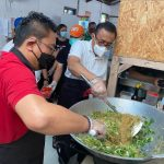 Jaya Negara Buka Dapur Umum Gotong Royong Denpasar, Sehari Siapkan 1.000 Paket Nasi