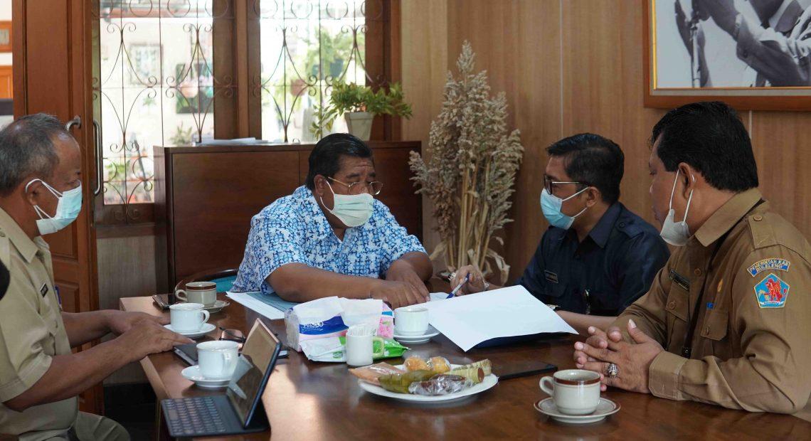 Pemkab Buleleng Siapkan Lahan Seluas 12,6 Are Sebagai Tempat Parkir RTH Taman Bung Karno