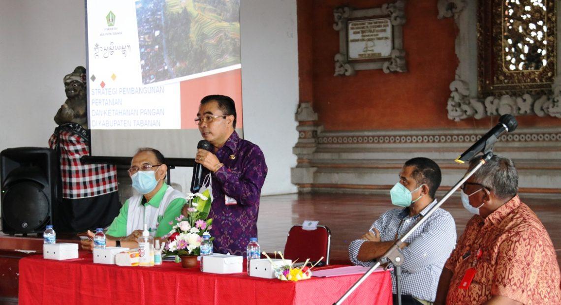 Wakil Bupati Tabanan Motivasi Para Penyuluh Pertanian