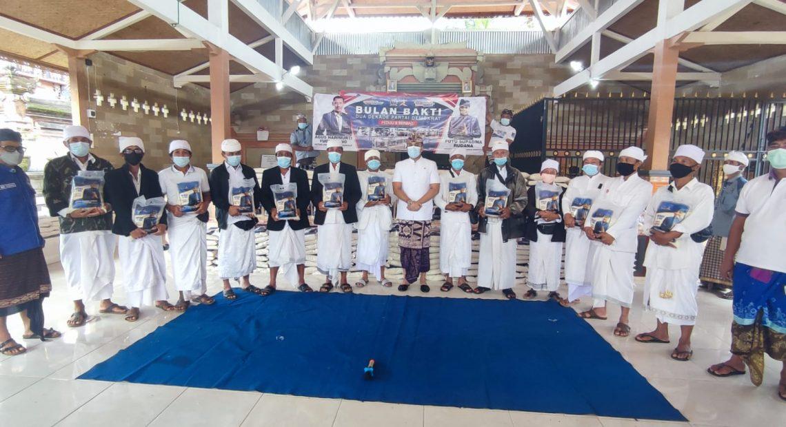 Putu Supadma Rudana (PSR) saat memimpin rombongan BKSAP DPR RI bertemu Bupati Bangli Sang Nyoman Sedana Arta, Selasa (14/9).